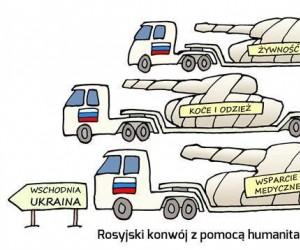 Pomoc humanitarna dla biednej Ukrainy