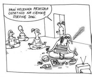 Ciemna strona jogi