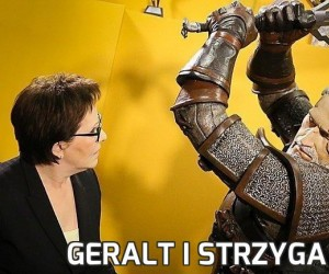 Geralt i Strzyga