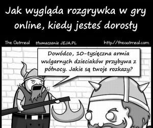 Gry online w dorosłym życiu