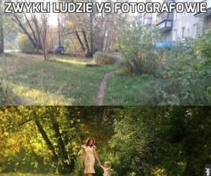 Zwykli ludzie vs Fotografowie