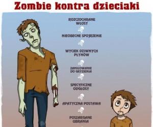 Zombie i dzieciaki - podobieństwa
