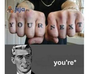 Wszędzie grammar nazi
