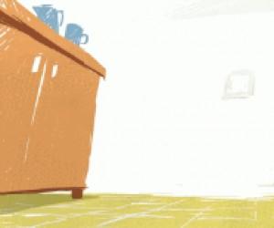 Jak wyciągnąć miskę spod szafki?