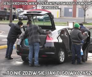 Jeśli kiedykolwiek zostawisz otwarty samochód w Kanadzie...