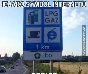 IE jako symbol internetu