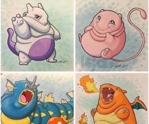 Gdyby Pokemony miały nadwagę