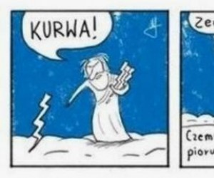 Wkurzony Zeus