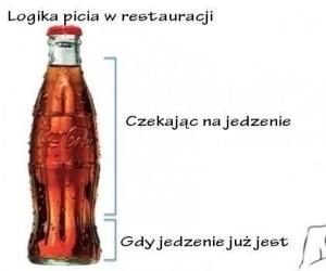 Logika picia w restauracji