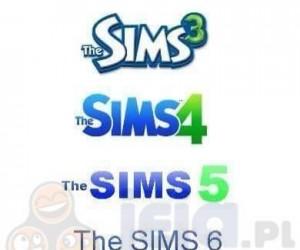 Ewolucja loga The Sims