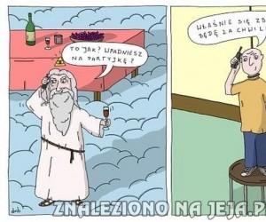 Z wizytą u Boga