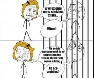 W więzieniu