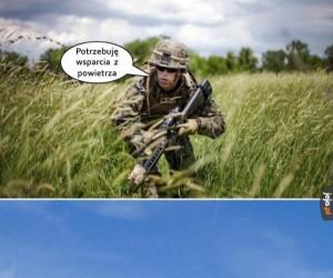 Wsparcie z powietrza
