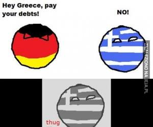Grecjo, spłaćże długi!