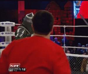 Takie walki na ringu bym oglądał!
