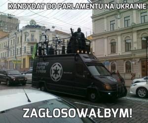 Kandydat do parlamentu na Ukrainie
