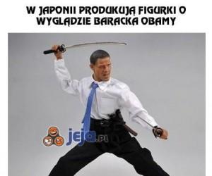 Barack Obama jako figurka