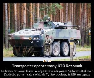 Transporter opancerzony KTO Rosomak