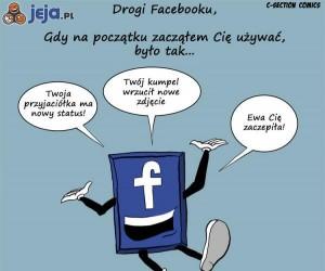 Degradacja Facebooka