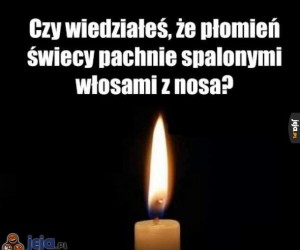 Zapach świeczki