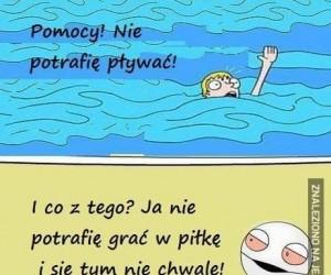 Słaby pływak