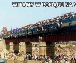 Witamy w pociągu na Woodstock