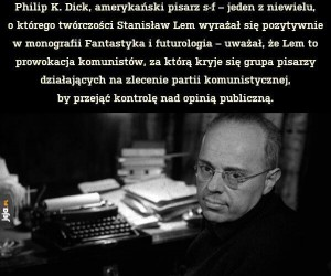 Dobry ziomek Stanisław Lem
