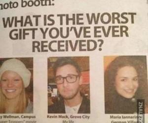 Najgorszy prezent?