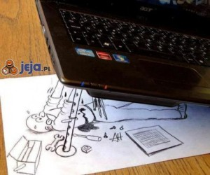 """""""Naprawa"""" laptopa"""