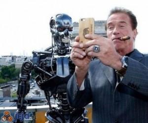 Selfie z Terminatorem