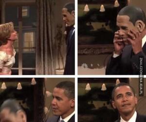 Obama to jest żartowniś