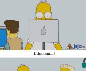 Simpsonowie i Apple