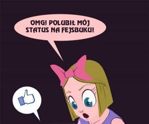 Logika dziewczynek z Facebooka