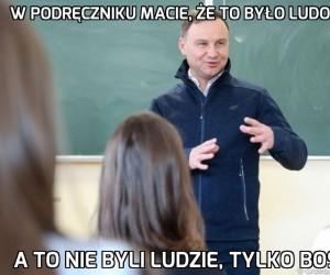Andrzej mówi, jak było