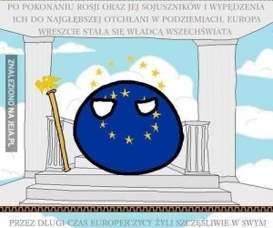 Europa władcą Wszechświata