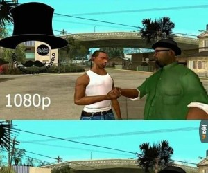 GTA San Andreas w 4k