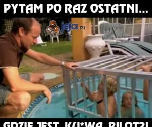 Gdzie jest pilot?
