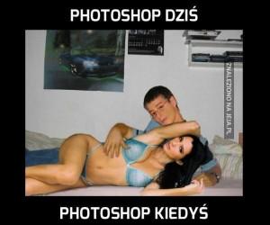 Photoshop dziś i kiedyś