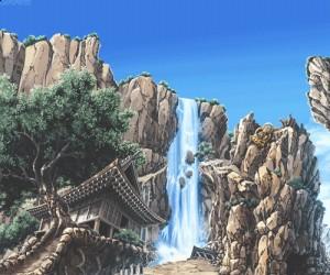 Pikselowy wodospad