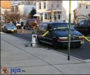 Złe parkowanie