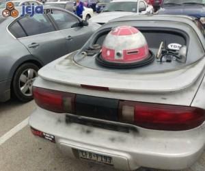 R2d2 w samochodzie