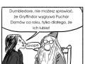 Dumbledore nie ma ochoty na rozmowy