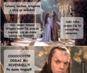 Oddać Rivendell? Po moim trupie!