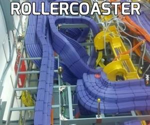 Rollercoaster dla elektronów