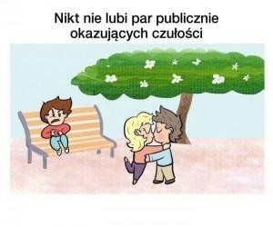Czułości w miejscu publicznym