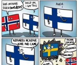 Gdzieś w Skandynawii...