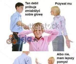 Kłótnia o dziecko