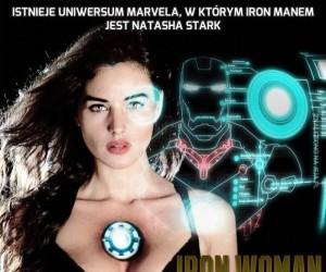 Istnieje Uniwersum Marvela, w którym Iron Manem jest Natasha Stark