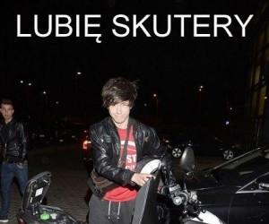 Lubię skutery...
