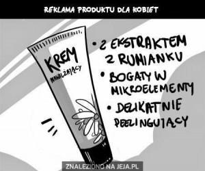Reklamy produktów dla kobiet i mężczyzn